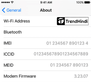 Check IMEI Number