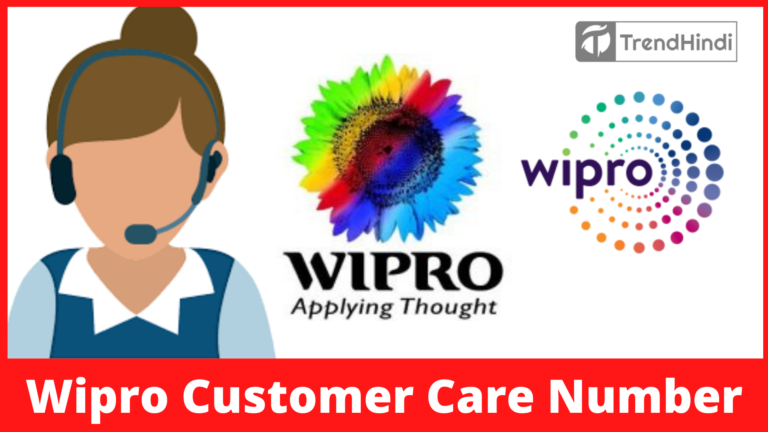 Wipro Customer Care Number