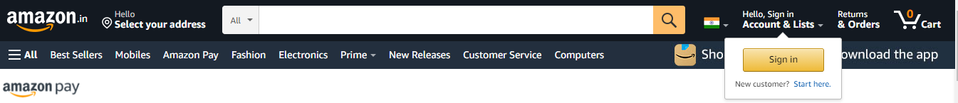 Amazon Pay Customer Care Number