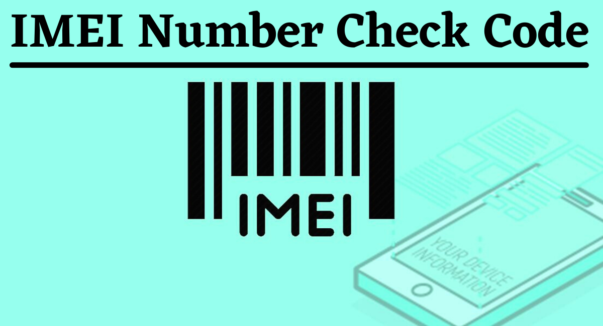 IMEI Number Check Code